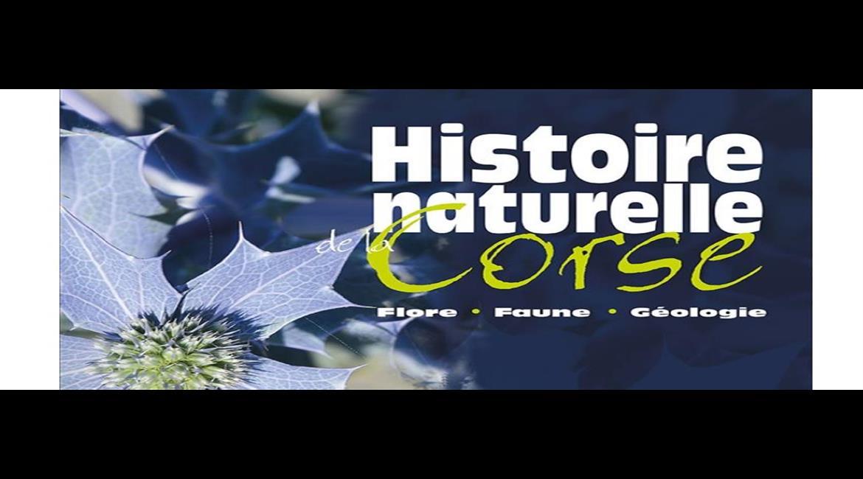 LIVRE : Histoire naturelle de la Corse